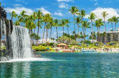 Happy Aloha Friday from the Main Lagoon at Hilton Waikoloa Village! #BeAWeekender #AlohaFriday #HWVTopShot