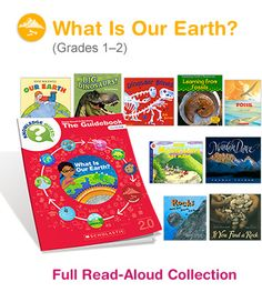 Learn all about our earth from the inside out!