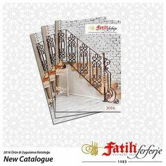Fatih Wrought Iron 2016 Products & Applications Catalogue has been released!  Fatih Ferforje 2016 Ürün & Uygulamalar Kataloğu Çıktı!  http://katalog.fatih.com.tr adresinden yeni kataloğumuzu inceleyebilirsiniz.  http://urunler.fatih.com.tr adresinden yeni ürünlerimize ulaşabilirsiniz.