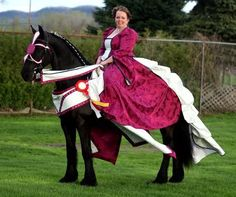 IFSHA Friesian Region One Horse Show... Results and PHOTOS of Friesian Costume!!!!!!