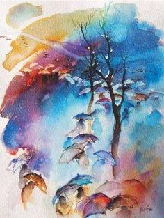 ünlü ressamların suluboya çalışmaları - Google Search