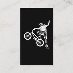 BMX Biker Skeleton Biker Freestyle Business Card #DIY #fitness #history mountain bike gear, mountain bike for beginners, mountain bike birthday, dried orange slices, yule decorations, scandinavian christmas Motorcycle Tips, Yule Decorations, Scandinavian Christmas, Bmx, Skeleton, Paper Texture, Business Cards, Biker, Things To Come