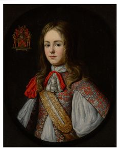 Flemish School, circa 1660-75 Portrait of a young nobleman, possibly Philippe-François Wouters Italian Paintings, European Paintings, Arched Eyebrows, Artist Workshop, Caravaggio, World's Fair, Fine Art Gallery, Historian, Her Hair