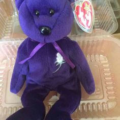 Beanie Baby Princess ($80) is on sale on Mercari, check it out! https://item.mercari.com/gl/m154677895/
