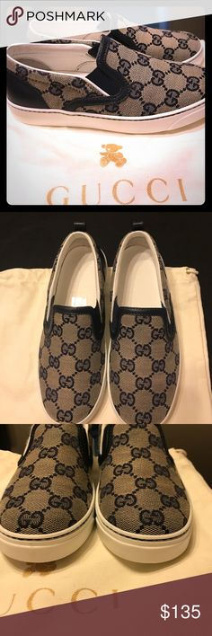 Spotted while shopping on Poshmark: Boys Gucci shoes! #poshmark #fashion #shopping #style #Gucci #Other