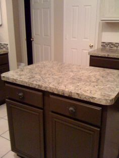 painted countertops and other cheap kitchen re-do ideas