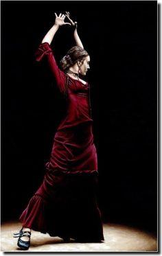 "The dancer #flamenco <span class=""EmojiInput mj230"" title=""Black Heart Suit""></span> www.thewonderfulworldofdance.com"