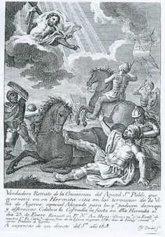 Historical reseach: Rabbi Saul was thrown from his horse on the road to Damascus, as Rosaura on the first scene of the play. Direct conection with Saint Paul's convection.