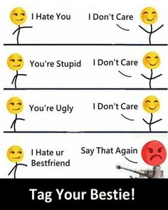 funny texts bff \ funny texts & funny texts fails & funny texts crush & funny texts to boyfriend & funny texts wrong number & funny texts from parents & funny texts jokes & funny texts bff Crazy Funny Memes, Really Funny Memes, Haha Funny, Funny Texts, Funny Jokes, True Memes, Funny Minion, Minion Humor, Funny Memes About Girls