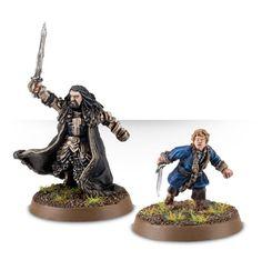 Thorin Écu-de-Chêne™, Roi sous la Montagne et Bilbo Sacquet™, Maître Cambrioleur