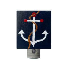 A custom, hand-painted night light makes sailing off to dreamland easier. #NauticalJuly #EtsyCustom