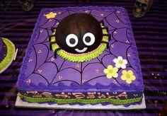 Halloween birthday sheet cake Birthday cakes Cake and Birthdays