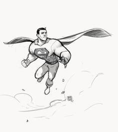 Superman by bib0un on DeviantArt