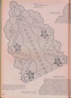 Victoria - Handmade Creations: Δαντέλες - Σχέδια