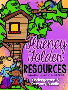 If you are a fan of my fluency resources, then you will LOVE this resource pack.  This is everything I use in my own folders for fluency! :)This is a BUNDLE of my primary fluency resources and my kindergarten resources.  They are similar to one another, but the kindergarten version is scaled back a bit on the sight words, incentive pages and graphing tools.I've included detailed instructions on how I organize the folders.