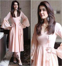 51 ideas for style hijab jupe Stylish Dresses, Casual Dresses, Fashion Dresses, Girls Dresses, Trendy Outfits, Pakistani Dresses, Indian Dresses, Indian Outfits, Indian Attire