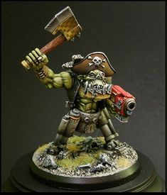 Apparently it is Ork pirate day on Pinterest.