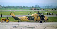 RN Wessex HU5 at Yeovilton air base on 25th May 1964