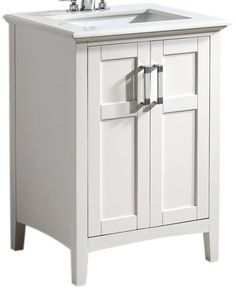 Vanity In White With Quartz Marble Top And Undermount Rectangle Sink At The Home Depot Mobile