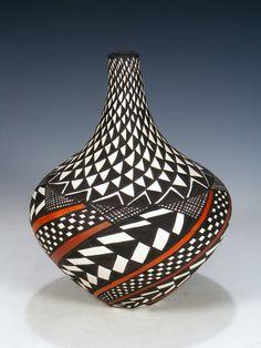 Acoma Pueblo Hand Coiled Pottery – PuebloDirect.com