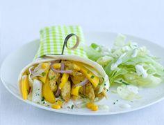 woensdag: Kipwrap met mango - Vrouwonline