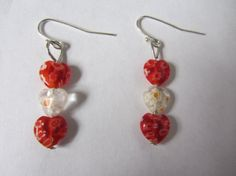 ON SALE NOW 40 off for Valentine's Day  Red and by acjewelrystore, $7.00