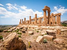 Temple of Hera (Juno) Lacinia - Valley of the Temples - Agrigento -  Extending over approximately 1,300 hectares, the Valley of the Temples recounts a millenary history that began in the 6th Century B.C. with the foundation of the ancient Greek colony of Akragas.