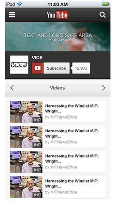 Directrices para el diseño de un canal - Ayuda de YouTube