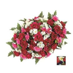 The Mixed Flower Cemetery Collection Pink Peony Headstone Box - Large from Colonial House of Flowers