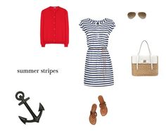 Summer stripes on the Kyle Alexandra-Wardrobe and Style Consulting blog! http://bit.ly/1np9uia
