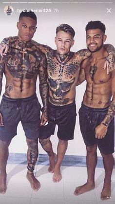 swimwear men / swimming men's / swim shorts swimwear for men/fitness short/workout short Mode Masculine, Tattoo Bauch, Full Body Tattoo, Stomach Tattoos, Mens Swim Shorts, Marquesan Tattoos, Hot Tattoos, Men With Tattoos, Tattos