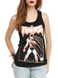 DC Comics Batman Batmanga Ready Girls Tank Top | Hot Topic