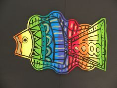 Grade Rainbow Fish--would like to morph this to a stuffed fish project. 3rd Grade Art Lesson, Animal Art Projects, Ecole Art, Rainbow Fish, School Art Projects, Kindergarten Art, Art Lessons Elementary, Elements Of Art, Art Lesson Plans
