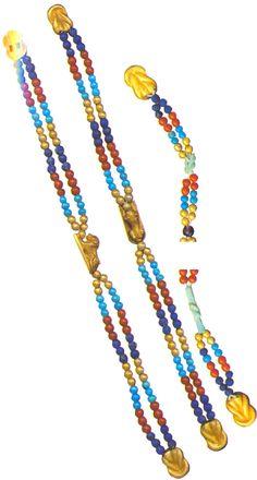 Bracelets of Queen Uret The Egyptian Museum: Floor 2 Hall 4