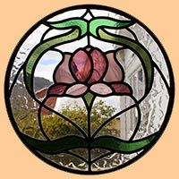 heart stained glass window stained glass | ... in New Norfolk, the heart of Tasmania's beautiful Derwent Valley
