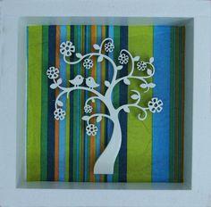 Árbol + pajaritos ♥