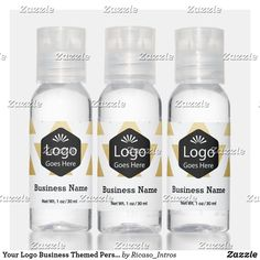 Your Logo Business Themed Personalized Hand Saniti Hand Sanitizer Business Products, Travel Size Products, Scented Hand Sanitizer, Travel Size Bottles, Hand Hygiene, Active Ingredient, Alcohol, Perfume, Logo