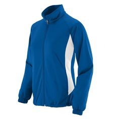 Augusta Sportswear 4392 - Ladies' Brushed Tricot Medalist Jacket * You can get more details here : Plus size Activewear