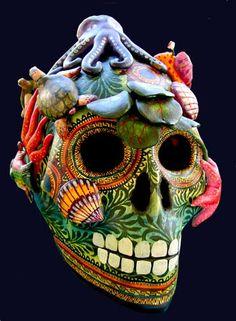 Cranio de Mariscos @ The Art of Mexico by Alfonso Castillo Orta