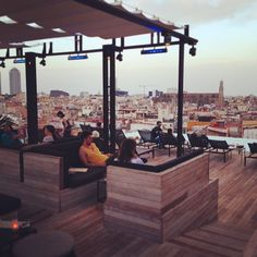 SkyBar @ Gran Hotel Central, Barcelona