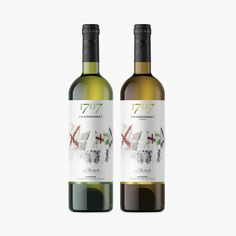 The Battle of Almansa in 1707 is the Back-Drop to this Illustrated Water Colour Wine Label / World Brand & Packaging Design Society