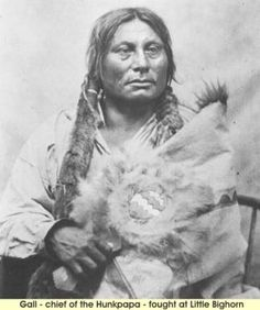 Gall - chief of the Hunkpapa - fought at Little Bighorn
