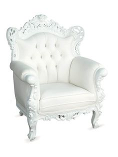 Beau Belle De Fleur Chair White Now Featured On Fab. Austin Based Fabulous  Baroque Specializes In Creating Classic Furniture With A Modern Twist At An  Affordable ...