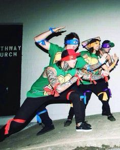 Pierce the Veil. Vic Fuentes Mike Fuentes Jaime Preciado Tony Perry . #ninjaturtles