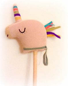 stick unicorn toy