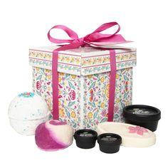 Hello Gorgeous Gift Box (Vanilla Dee-Lite instead of the massage bar) | Lush