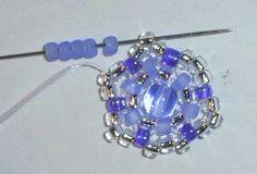 Azareal: Beaded Stars or Mandalas earrings tutorial