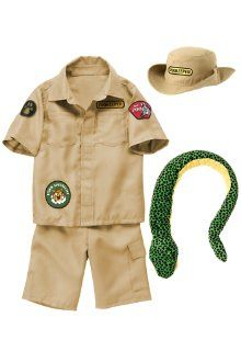 Safari Man Steve Urwin Jungle Zoo Keeper Australian Mens Fancy Dress Costume