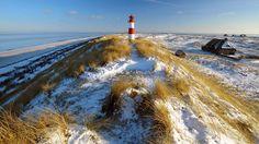 Sylt Island in Winter