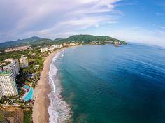 Playa Palmar en Ixtapa